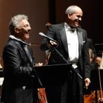Ilan Chester and maestro Garrido