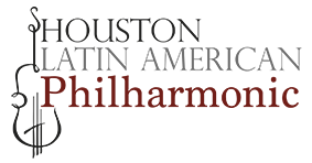 Houston Latin American Philharmonic Logo