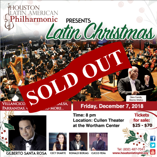 LatinXmas Sold Out