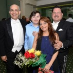 with the Gonzalez family