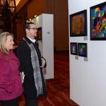 Art Exhibition before Concert