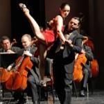 Elizabeth and Mauro dancing